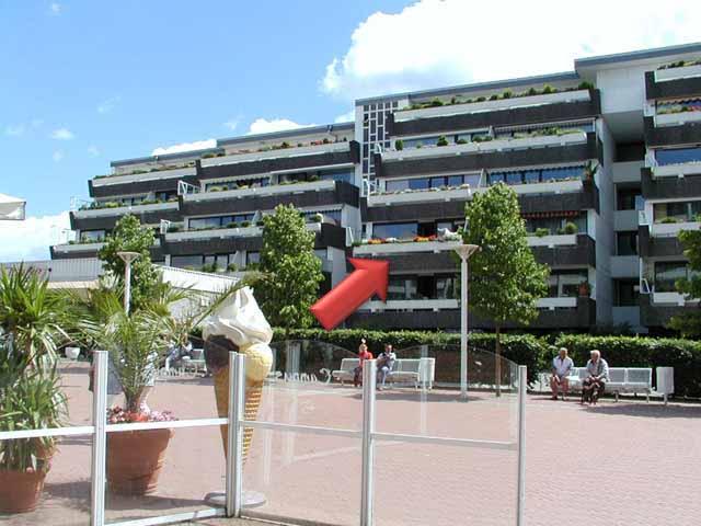 5 - Ostseeplatz mit Lage der Wohnung