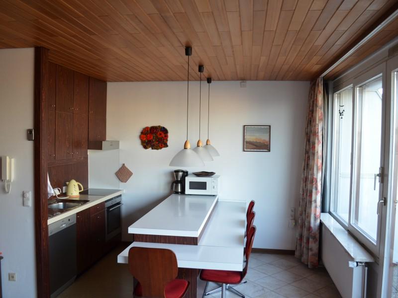 k che und schlafbereich ferienwohnung familie klink. Black Bedroom Furniture Sets. Home Design Ideas